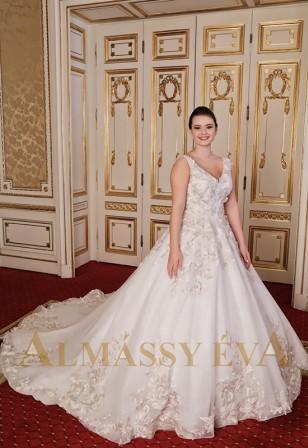 ec3662ba4e7 Almássy Éva menyasszonyi ruha kollekció - ALMÁSSY ÉVA LUX Esküvői ...